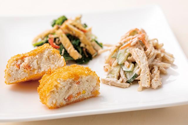豆腐やおからを使った手作りお惣菜
